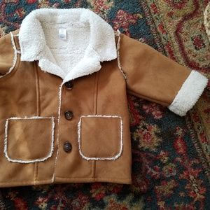 Baby Gap Suede Coat